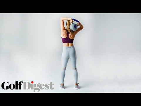 3 Kettlebell Exercises with Golf's Most Beautiful Woman | Golf Digest