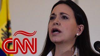 María Corina Machado reacciona a propuesta de España de diálogo con Venezuela