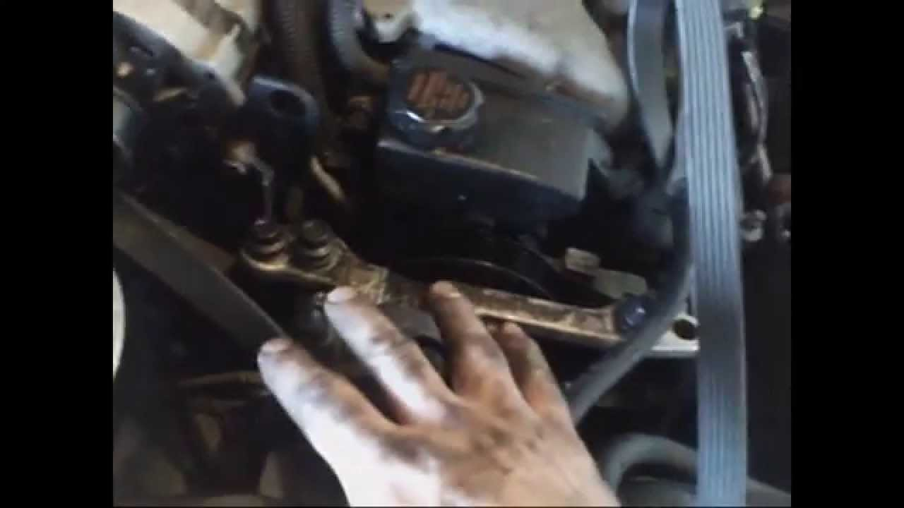 1995 Pontiac Grand Am 31l Serpentine Belt Replacement Install 2000 Prix Engine Diagram Water Pump On A 3 8 Motor Remove Replace Youtube