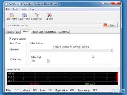 SoftPerfect Connection Emulator demonstration