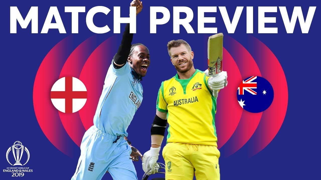 2019 Cricket World Cup live: Australia v England