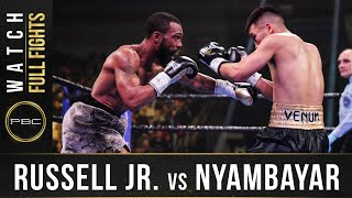 Russell Jr vs Nyambayar FULL FIGHT: February 8, 2020 | PBC on SHOWTIME