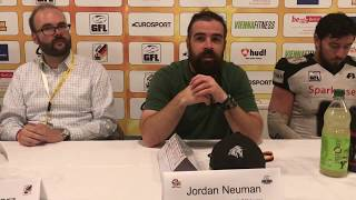 Pressekonferenz German Bowl XXXIX