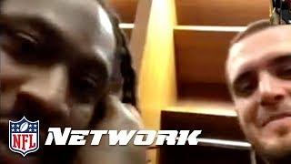 Marshawn Lynch Crashes Derek Carr's Interview with Deion Sanders! | GameDay Prime | NFL Network