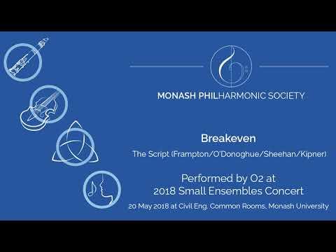 Breakeven - O2 (2018 MUPS Small Ensembles Concert)