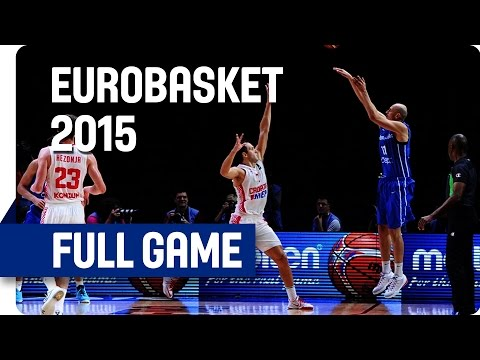 Croatia v Czech Republic - Round of 16 - Full Game - Eurobasket 2015
