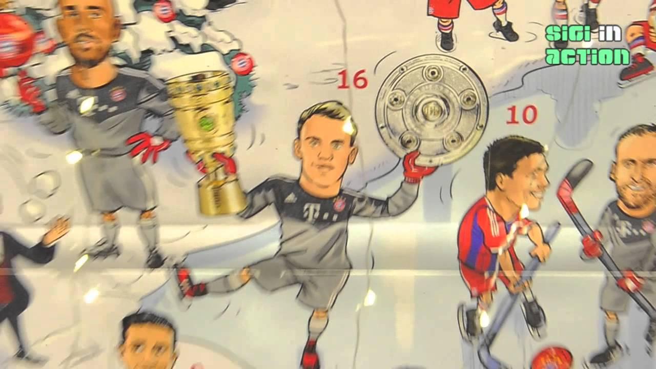Fc Bayern Weihnachtskalender.Preview Fc Bayern Adventskalender 2014 Fc Bayern Munich Fanshop Stachus Untergeschoss