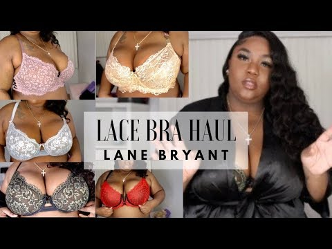 PLUS SIZE LACE BRA HAUL || LANE BRYANT X CACIQUE. http://bit.ly/2Xc4EMY