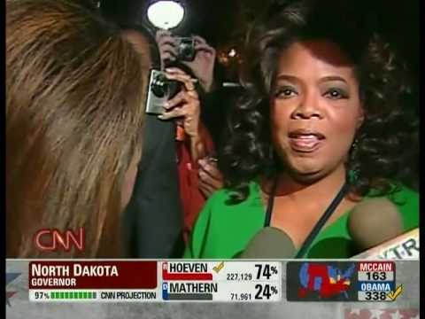 Oprah Shares Her Thoughts on Obama Winning the Election