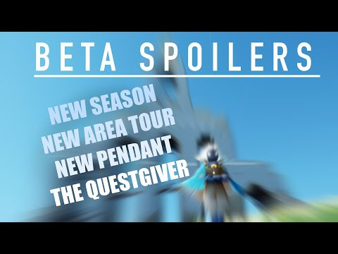 Sky: CotL NEW SEASON ! Beta spoiler! New area + the questgiver!