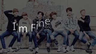 BTS 防彈少年團 방탄소년단   I'm Fine字幕  韓繁中字