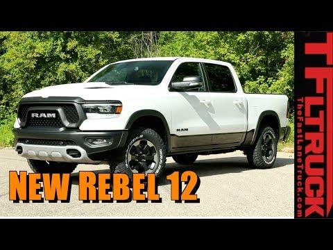2019 Ram Rebel 12 Goes High Tech and High Luxury!