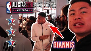RECAP OF MY NBA ALL STAR WEEKEND EXPERIENCE WITH 2HYPE!
