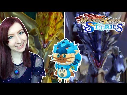 FLOOR 50 BOSSES! TOWER OF ILLUSION BEATEN! - Monster Hunter Stories Let's Play Walkthrough Part 38
