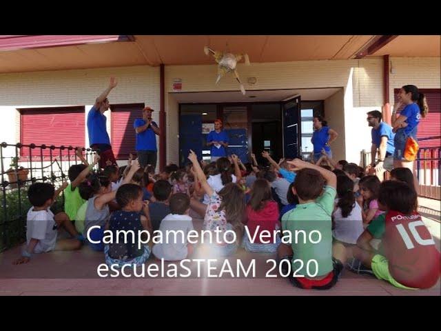 Campamento Verano escuelaSTEM 2020
