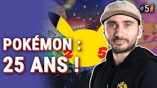 DES ANNONCES EN APPROCHE ? - 5 Choses à savoir sur les 25 ans de Pokémon