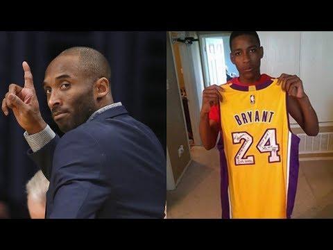 Kobe Bryant Sends SURPRISE Gift to Brother of Police Shooting Victim Jordan Edwards