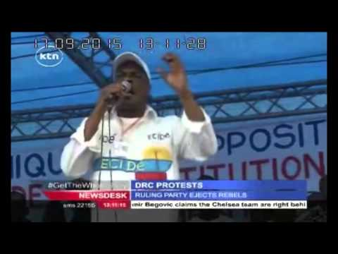 7 senior political figures kicked out of Democratic Republic of Congo's Ruling Coalition