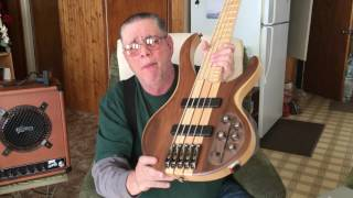 ibanez btb675m 5 string electric bass guitar review and demo 288