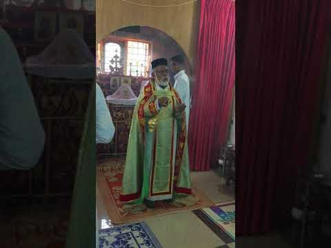 a glance form Qurbana at Hebron Hills Chapel