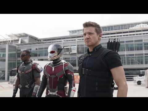 Spiderman Vs Capitán América Pelea Del Aeropuerto Part- 3 IMAX HD  Capitán América Civil War