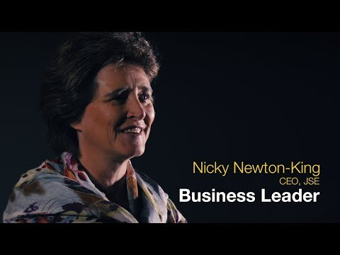 The Nicky Newton-King business leadership journey.
