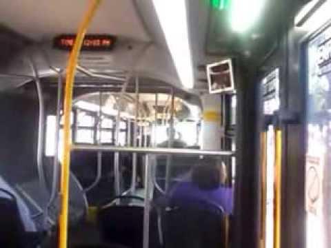 Akron Metro New Flyer XN60 10 minute ride