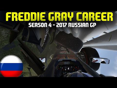 F1 2017 RUSSIAN GRAND PRIX | FREDDIE GRAY CAREER (S4 E4) - HUGE START CRASH!!