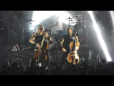 Apocalyptica LIVE; Minsk, Belarus 2015 (blast from the past ep. 3)