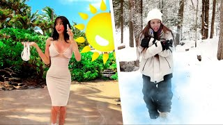 SURVIVING IN HOT vs COLD FOR 24 HOURS!