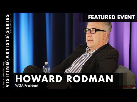 Howard Rodman, WGA President, Courier 12 Writer's Conference 2015 Part 3/5