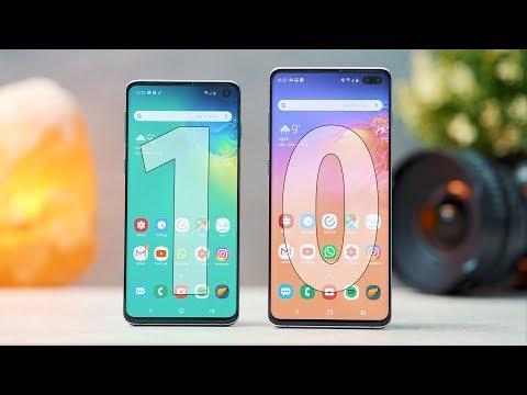 Samsung Galaxy S10 / S10+ : TEST COMPLET Et AVIS PERSONNEL