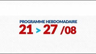 Programme de courses Equipe FDJ - Semaine du 21 au 27 août