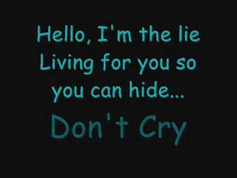 Evanescence - Hello (Lyrics)