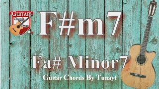 ? Fa#7 minor | How to play Fm#7 chord on guitar | Fa# minor 7 Akoru Gitarda Nas?l Bas?l?r ?