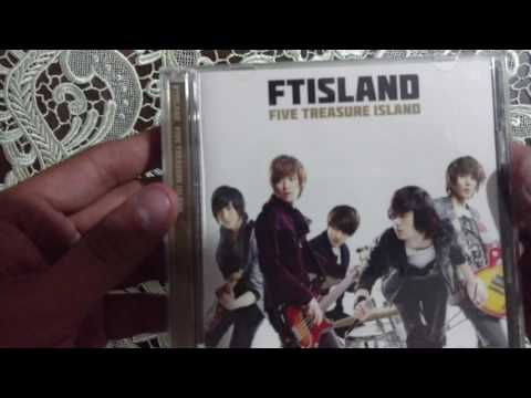FT ISLAND - Five Treasure Island version dorada