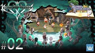 #02 - KINGDOM HEARTS χ [chi] - English Walkthrough — Dwarf Woodlands, Part 1