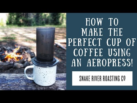 How To Make The Perfect Cup Of Coffee Using An Aeropress!