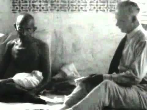 mahatma gandhiji's 1st ever interview video.flv