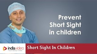 How can we prevent short sight in children - Dr. Ashley Mulamoottil Explains | India Video