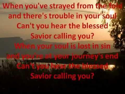Calling You - With Lyrics - Hank Williams