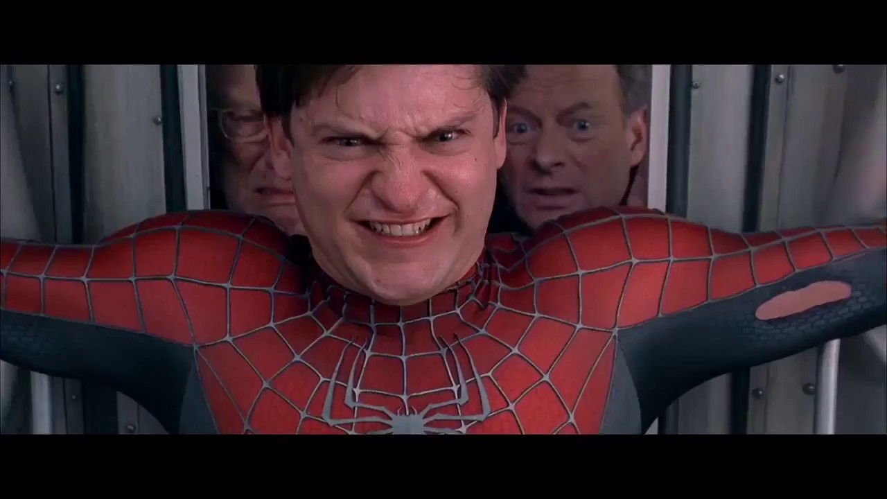 Funny faces of tobey m...