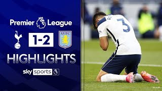 Reguilon scores spectacular own-goal in Spurs loss 😬 | Tottenham 1-2 Aston Villa | EPL Highlights
