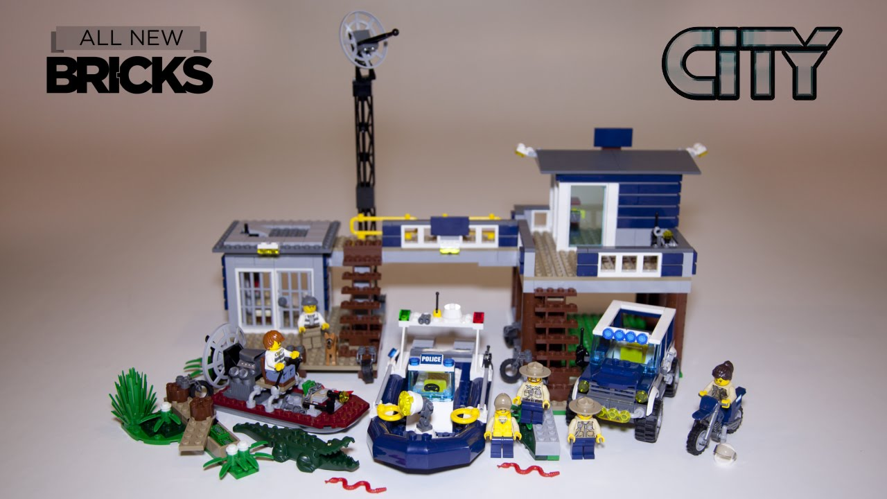 Lego City 60069 Swamp Police Station Speed Build Review