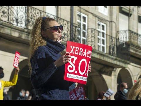 Los hosteleros de Ourense reclaman una solución a su situación