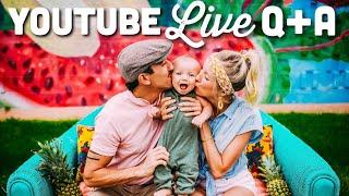 YouTube Live Q+A
