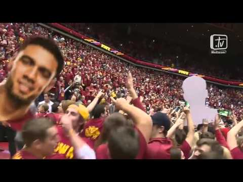Cyclone Radio Network Call - 2015 Iowa State vs. Iowa Men
