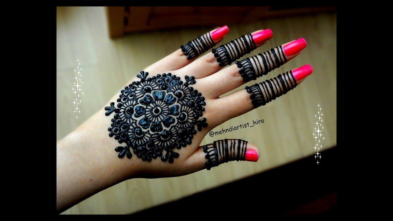 Mandala Henna Designs: Diwali Special Beautiful Stylish Arabic/gulf Mandala