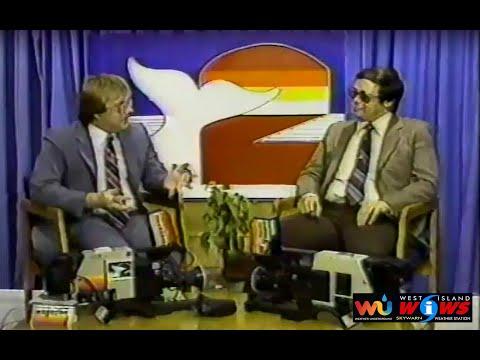 Vintage 1985 Public Access Cable Show Fairhaven MA