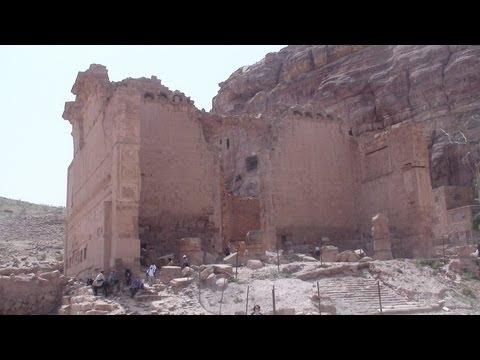 Qasr al-Bint Far'oun Temple - Jordan